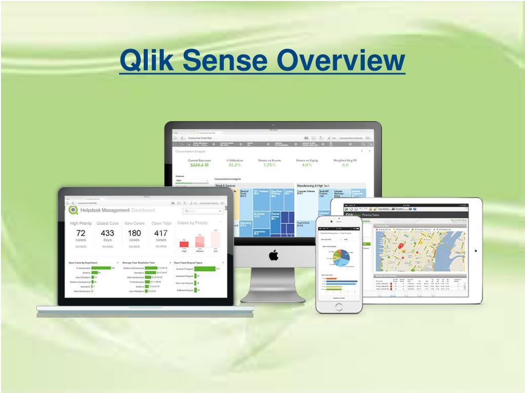 PPT - A Synopsis Of Qlik Sense Software PowerPoint Presentation - ID