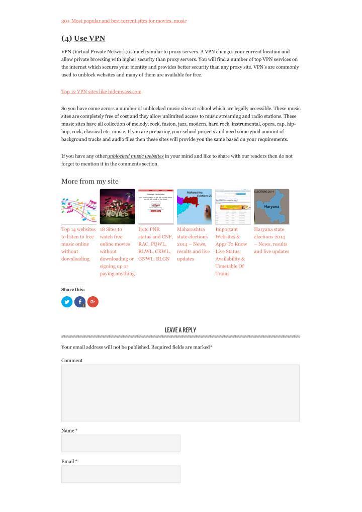 torrent sites live music