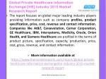 global private healthcare information exchange hie industry 2015 market research report1