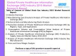 global private healthcare information exchange hie industry 2015 market research report2