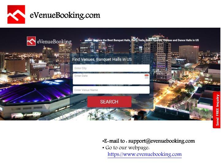 eVenueBooking.com