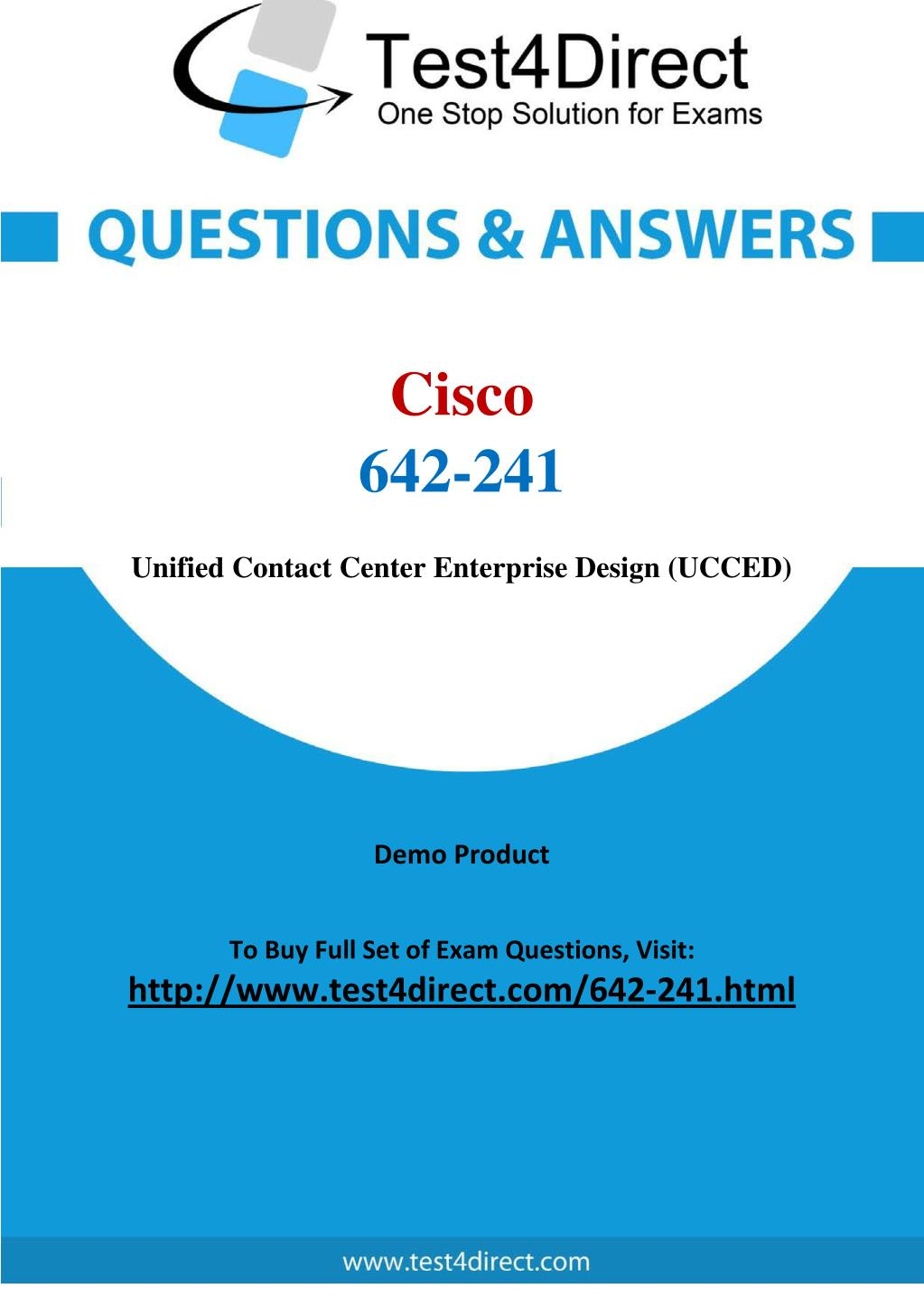 ppt cisco 642 241 exam updated questions powerpoint presentationcisco 642 241 exam updated questions powerpoint ppt presentation