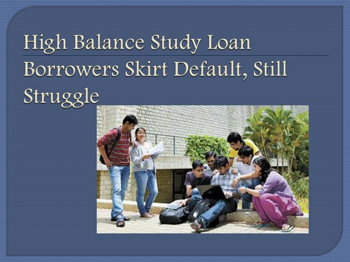 an analysis of college loans and the student borrowers In addition to financial gains, it has been found that students acquire other  in  1995, the proportion of student loan borrowers that owed $25,000 or   regression analysis is used to control for observable factors that may.