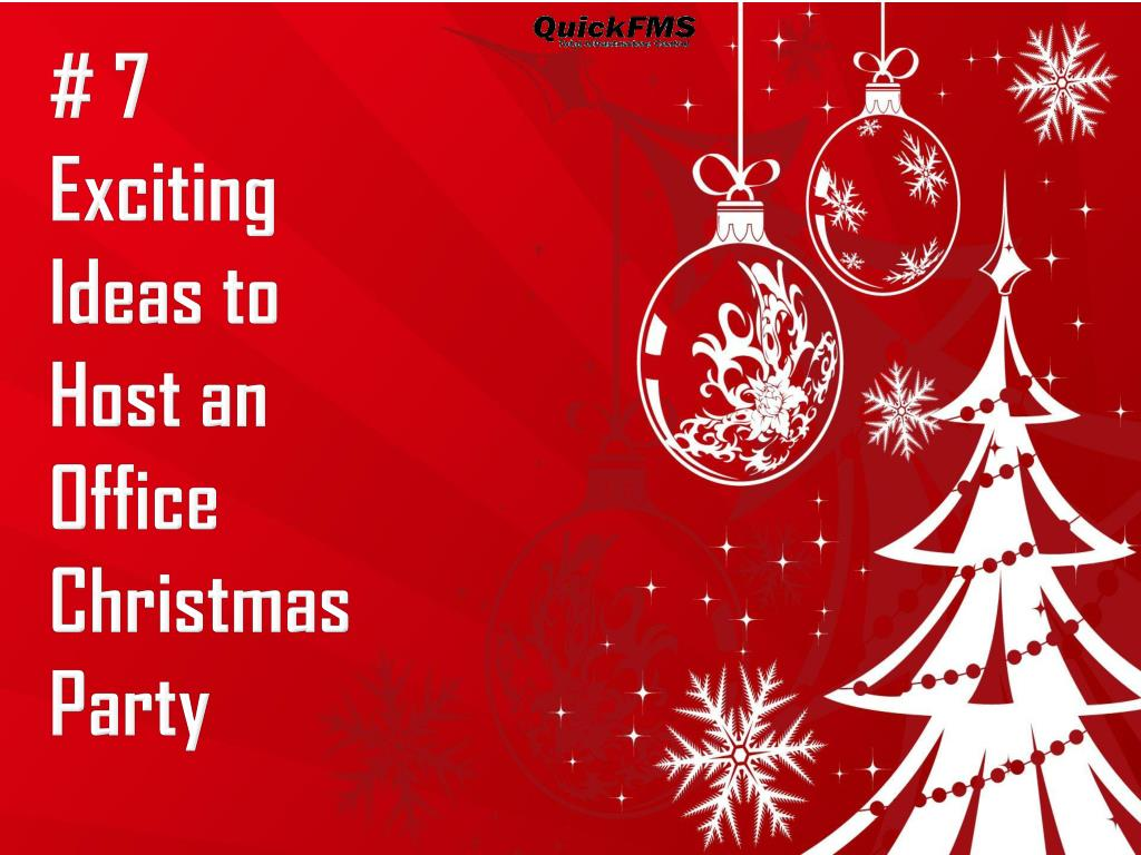 Office Christmas Party PowerPoint