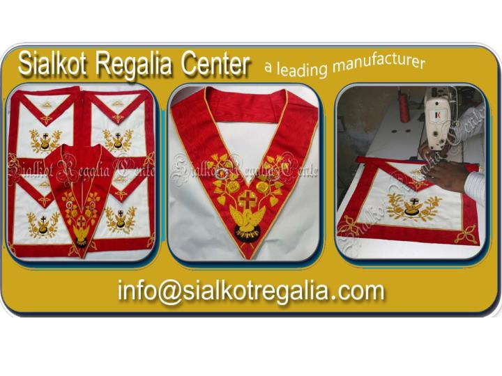 PPT - Masonic Rose Croix regalia Apron & collar PowerPoint