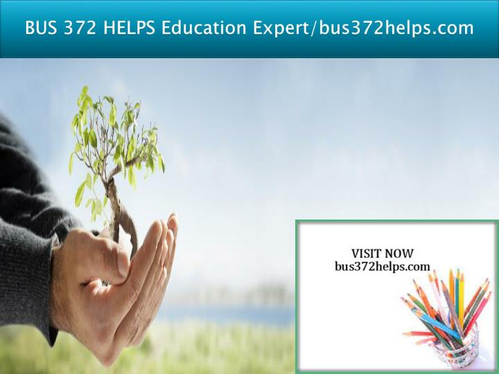 Bus 372 helps education expert bus372helps com