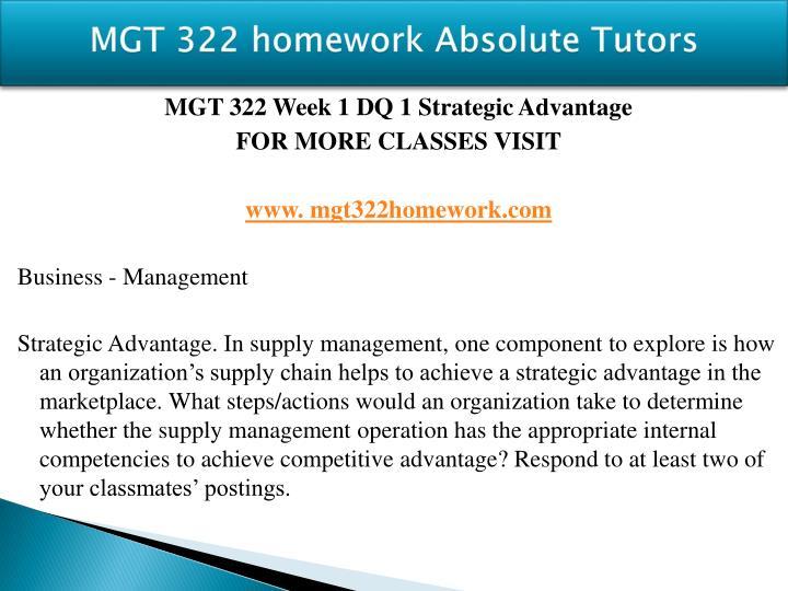 Mgt 322 homework absolute tutors1
