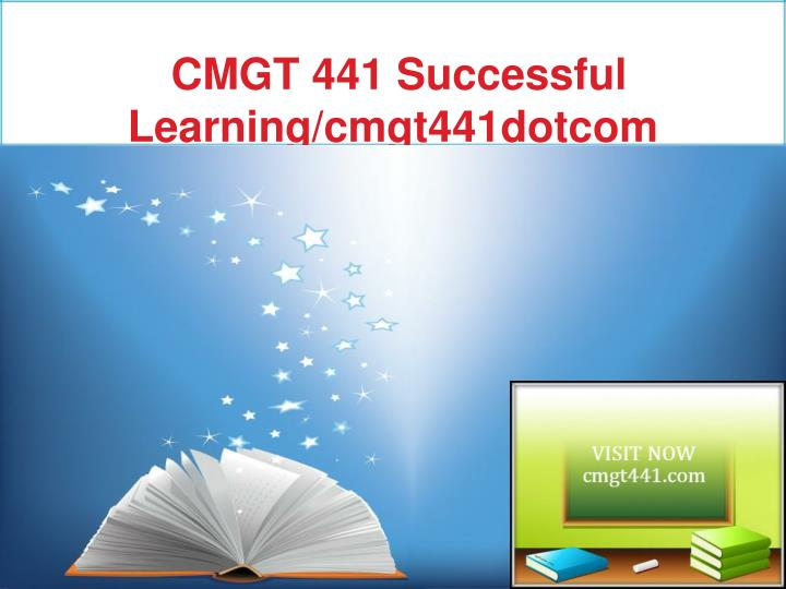cmgt 441 week 3 individual assignment Hcs 437 week 3 long-term care facility study outline  concepts purpose of  assignment the individual assignment takes students through multiple studies.