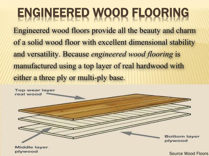 engineered wood flooring n.