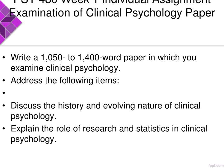 evolving nature of clinical psychology