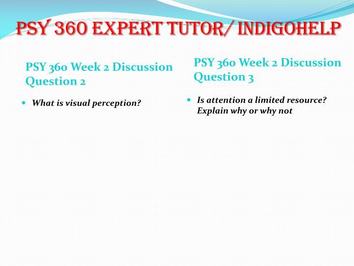 PSY 360