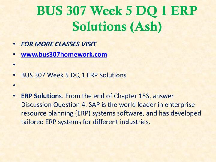 bus 307 week 5 dq 2 Click here -   education, homeworkhelp, online homework, final exam, entire course,week, dq, answers,study , business.