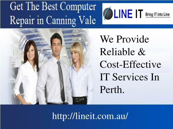 We Provide Reliable & Cost-Effective IT Services In Perth.