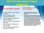 hca 311 educational tutor indigohelp1
