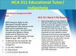 hca 311 educational tutor indigohelp5