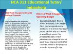 hca 311 educational tutor indigohelp6