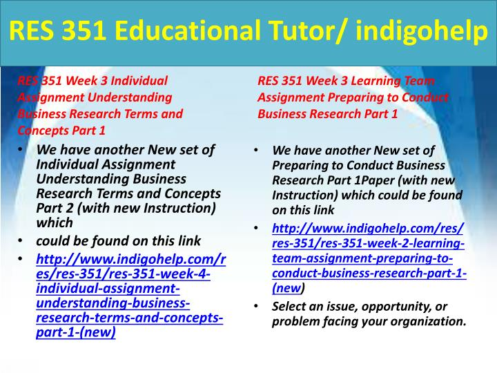 week 5 preparing to conduct business Res 351 business research uploaded by albert einstien download here res 351 business research res 351 week 1, individual assignment, current events in business.