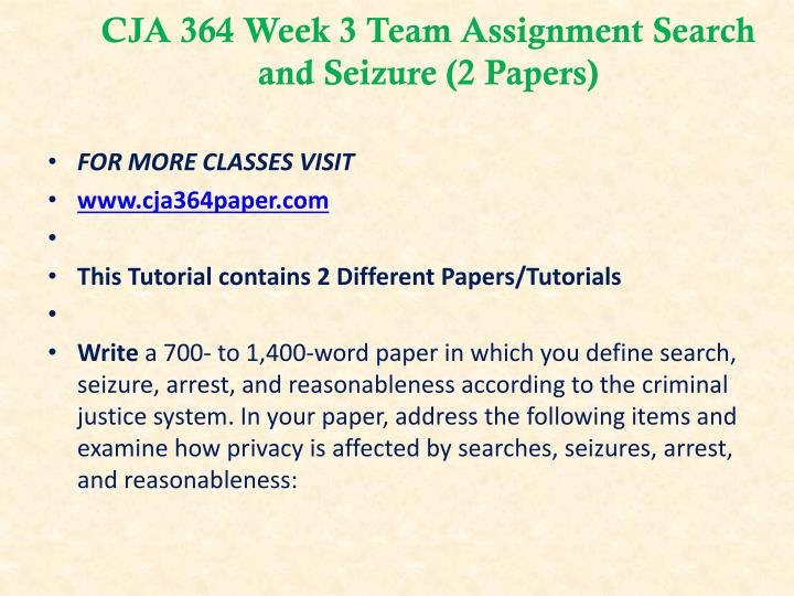 cja 364 Cja 364 week 2 individual exclusionary rule evaluation write a 1,050- to 1,400-word paper in which you analyze the rationale and purpose of the exclusionary rule, as well as identify the exceptions to the exclusionary rule.