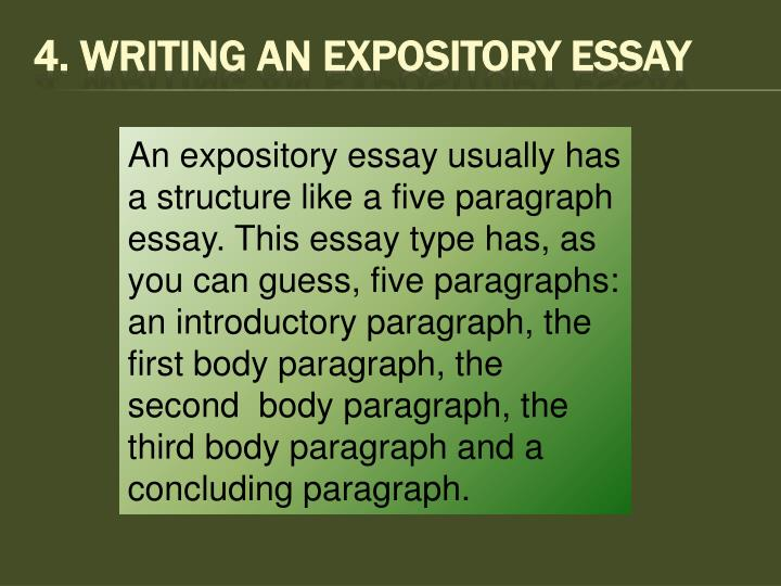 4. Writing An Expository Essay