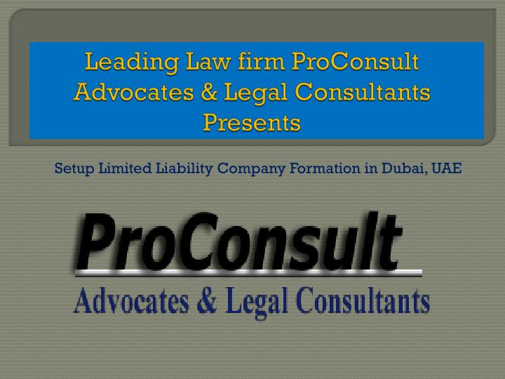 leading law firm proconsult advocates legal consultants presents n.
