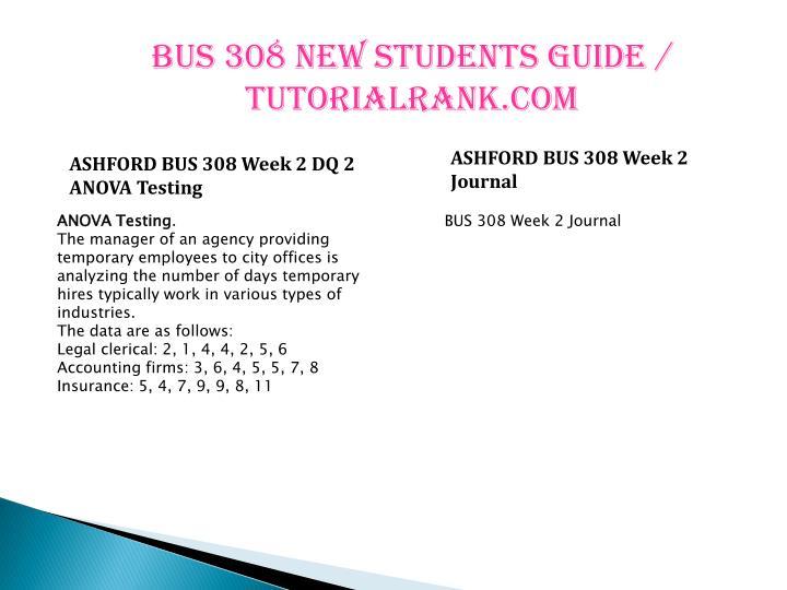 BUS 308 NEW