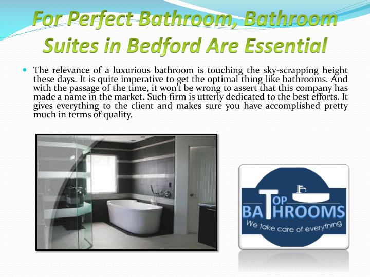 for perfect bathroom bathroom suites in bedford are essential