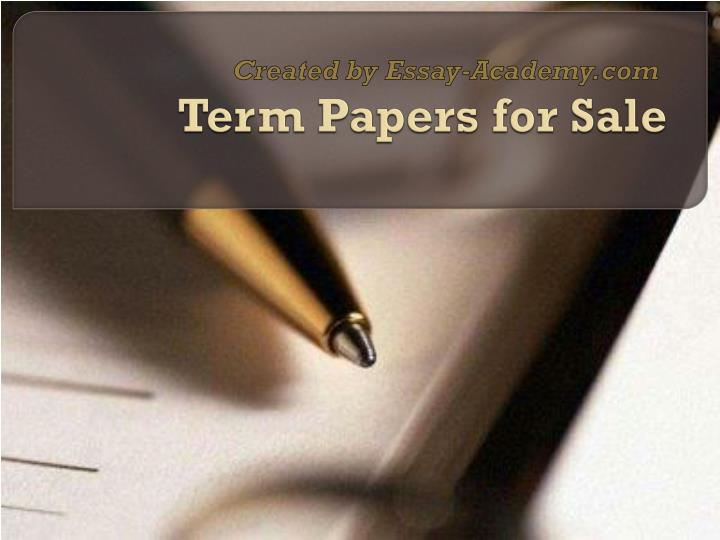 written papers for sale Research paper writing some opt for pre-written papers for sale, and some learn to cope with written in case you need any research paper help.