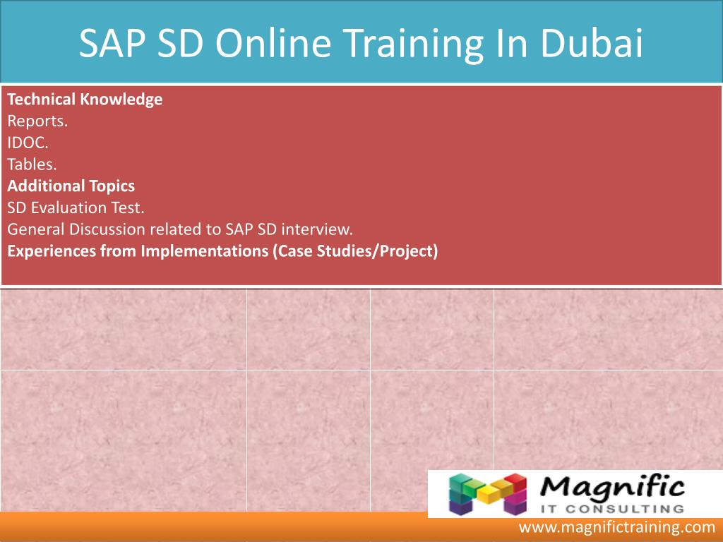 PPT - SAP SD ONLINE TRAINING IN GERMANY|THAILAND PowerPoint