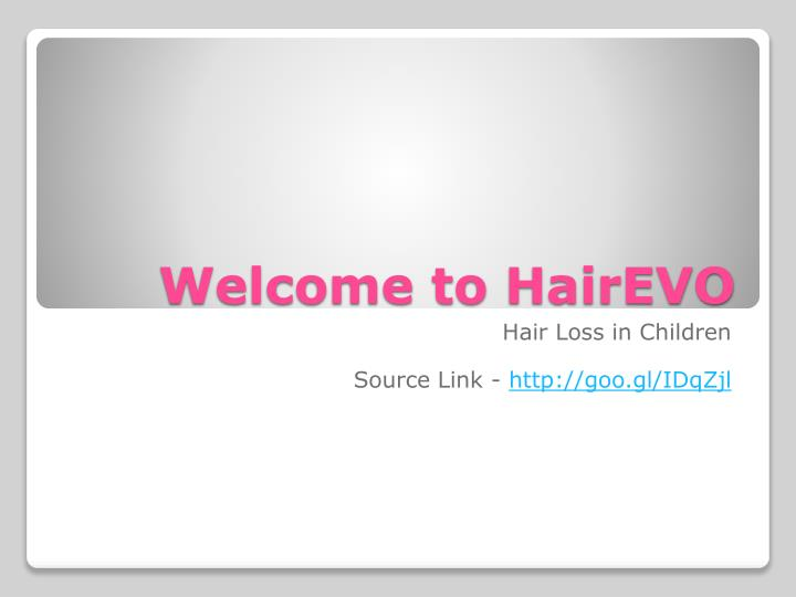 Welcome to hairevo