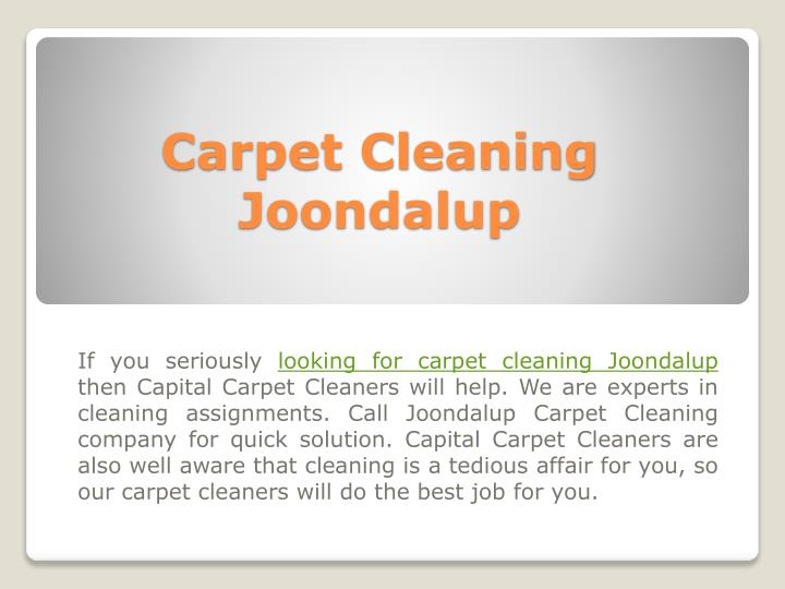 carpet cleaning joondalup n.