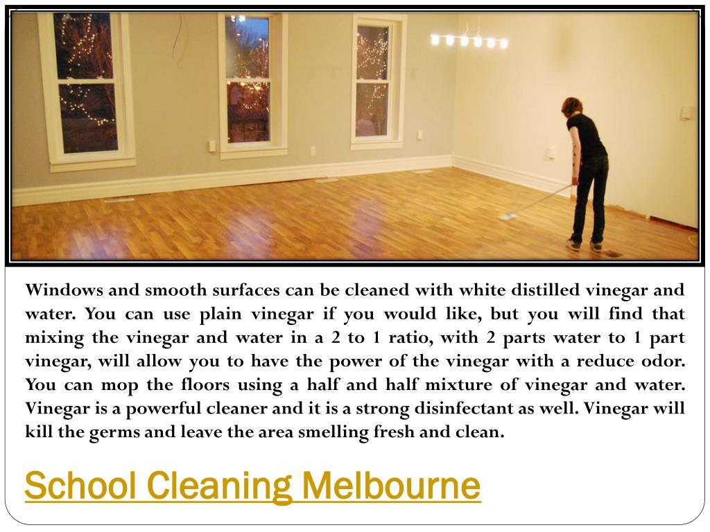 Ppt School Cleaning Melbourne Powerpoint Presentation