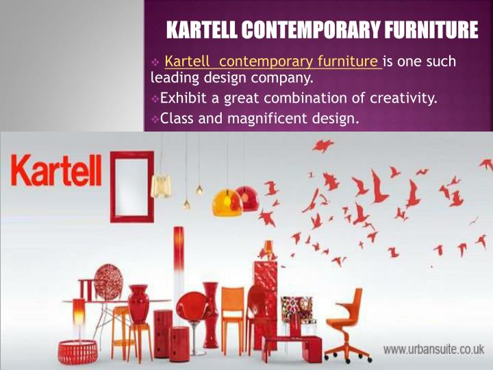 Kartell contemporary furniture
