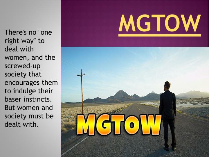 PPT - MGTOW PowerPoint Presentation - ID:7271957