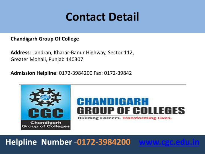 Chandigarh Group Of College