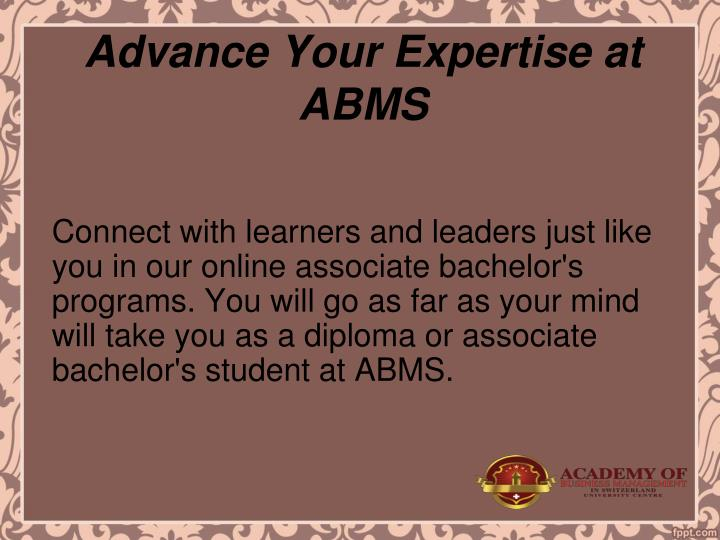 Advance Your Expertise at ABMS