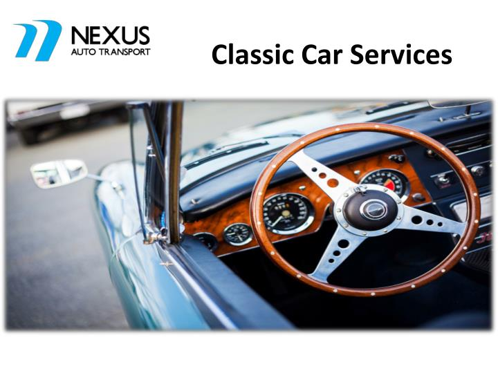 Classic car services