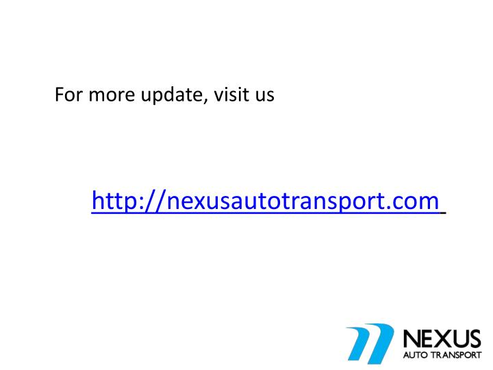 For more update, visit us