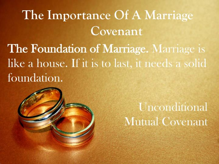 importance of marriages As the marriage rates for 2008 in the united kingdom were the lowest since records begin, this study sought to understand the changing importance of marriage by implementing qualitative methods.