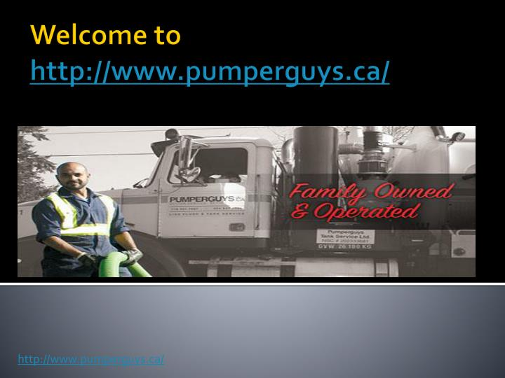 welcome to http www pumperguys ca n.