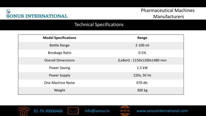 Pharmaceutical Machines