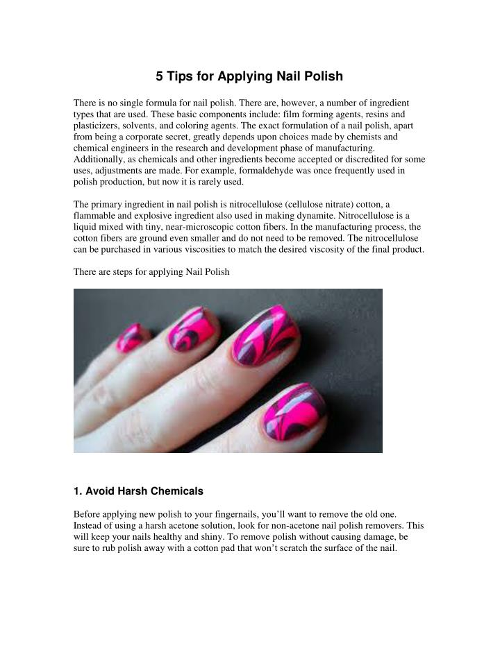 PPT - Cheap Nail Varnish PowerPoint Presentation - ID:7273329
