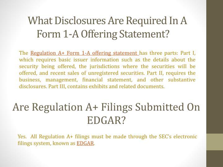 PPT - Regulation A - Mini IPO PowerPoint Presentation - ID:7273447