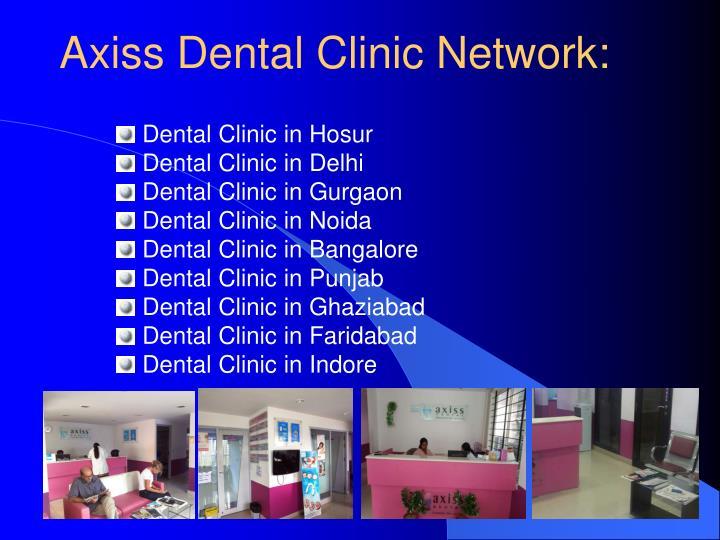 Axiss Dental Clinic Network: