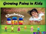growing pains in kids