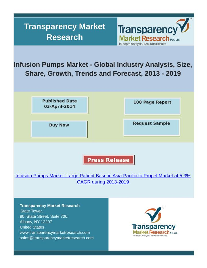 infusion pumps market 2014 global industry This report gives a complete survey of the elastomeric infusion pumps market in the us and its state as of 2018 it gives a comprehensive analysis of the industry, its dynamics, and structure market insights: elastomeric infusion pumps are disposable medical devices used for administration of.