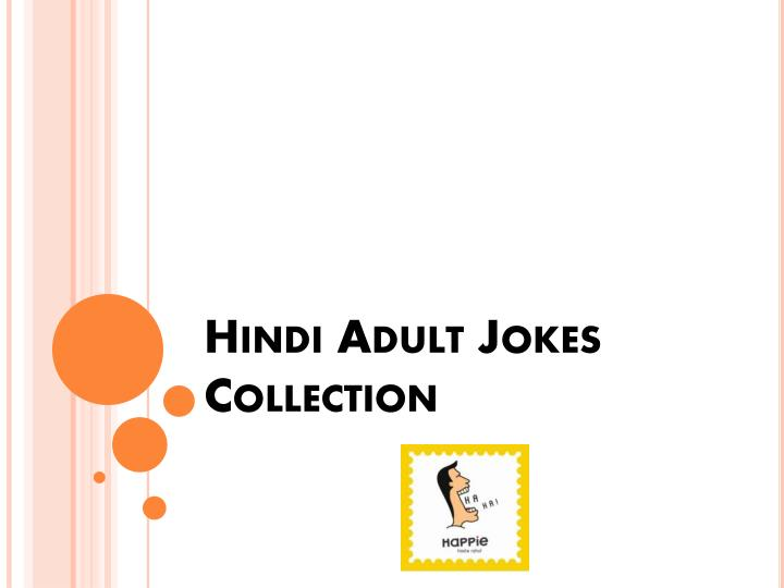 Hindi adult jokes collection