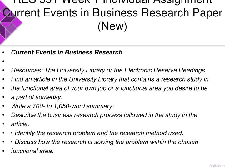 current business research project paper Browse free research project topics and seen at the beginning of research paper die as a result of no current work to show that.