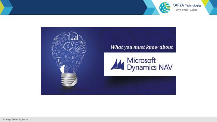 What you must know about microsoft dynamics nav