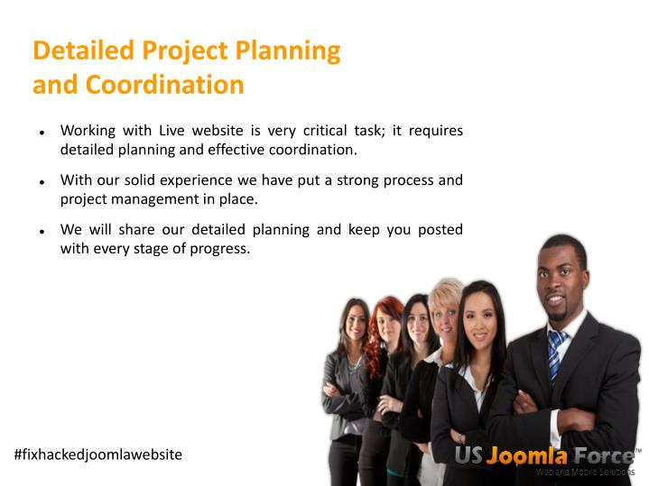 Detailed Project Planning