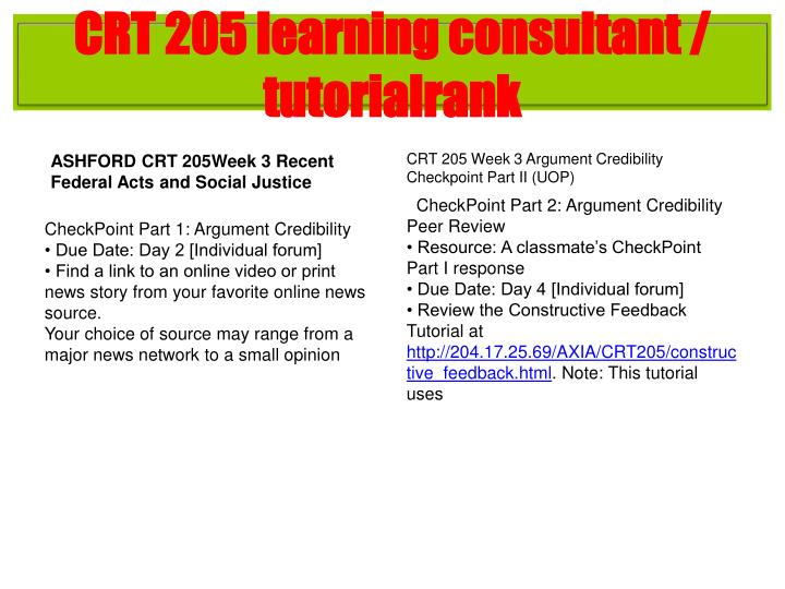 crt205 mapping an argument Click the button below to add the crt 205 week 2 dqs to your wish list share  what is the difference between an unsound argument and an invalid argument.